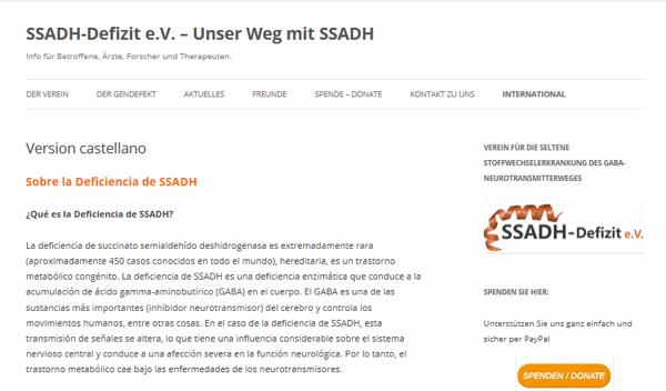 De Neu aporta 2000 euros a la investigación de la SSADH