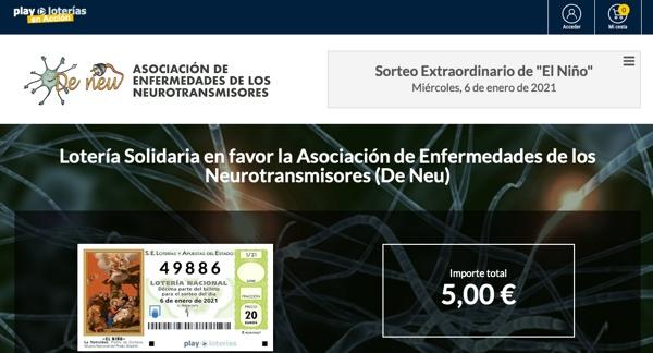 Colabora con Deneu con la lotería de El Niño 2021